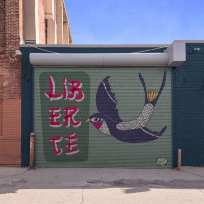 Mural Liberte